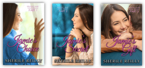Bringing Jamie Home - The Trilogy by Sherile Reilly - clean, contemporary romance author