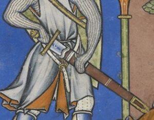 Knight Drawing Sword
