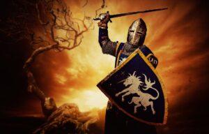 Knight Wielding Sword